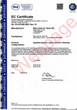 Certifikát TÜV pro Baby-Vac 2 Ergonomic
